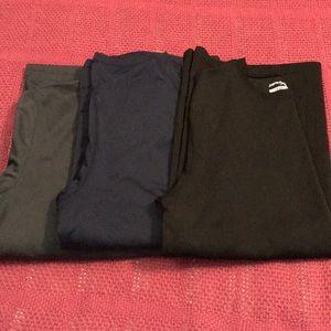 Three ZeroXposur shirts